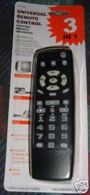 Rc300pb00 g033601 tv dvd vcr remote control – clickermart.